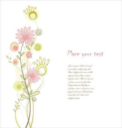 trabajo manual: Fondo floral pastel