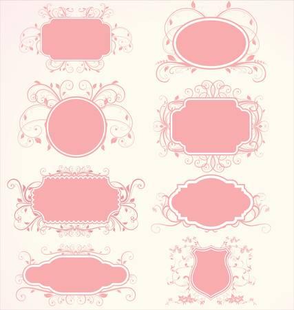 Floral frames Stock Vector - 10320462