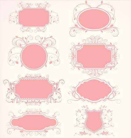 Floral frames Stock Vector - 10320462