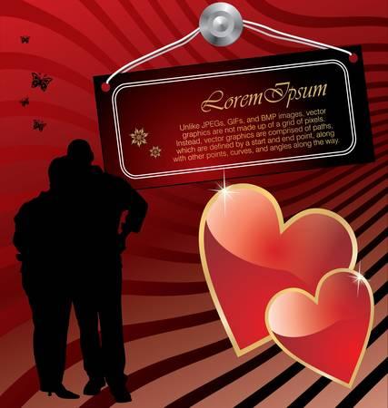 truelove: love background Illustration