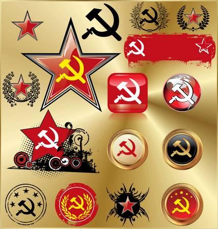 revolutionary war: Communist signs