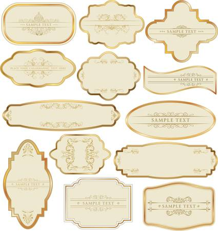 Set of golden labels Vector