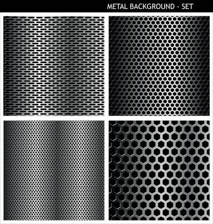 malla metalica: Rejilla metálica - conjunto