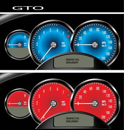 odometer: speedometer