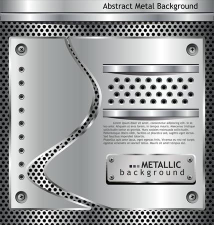 net bar:  metallic background