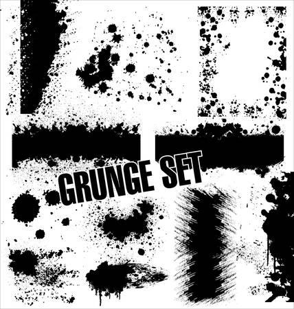 Grunge Images frames Vector