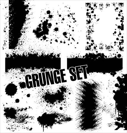 Grunge Images frames Illustration