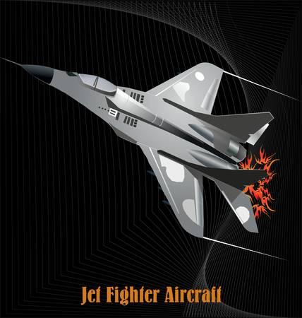 Military aircraft Stock Vector - 11094799