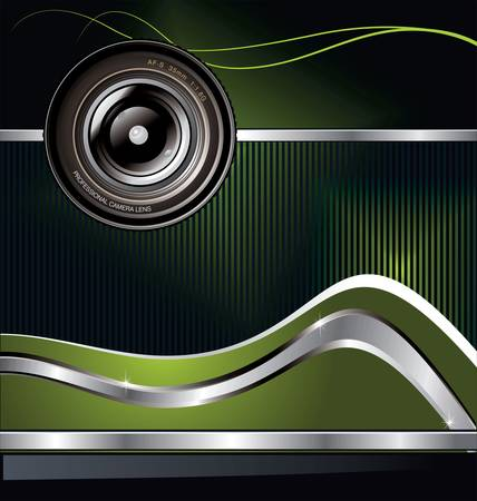 electronics parts: Camera lens background
