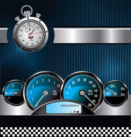 Racing background Stock Vector - 11568985