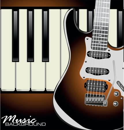 stratocaster: Music background