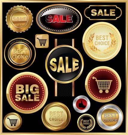 design elements for business - sale Vector