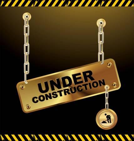 Under construction Stock Vector - 12868382