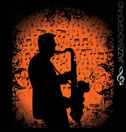 saxophonist: Music background
