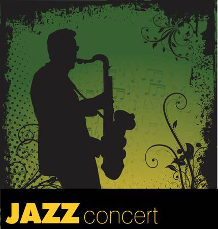 Jazz background Stock Vector - 13015112