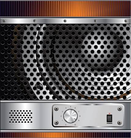air hole: Speaker grill background