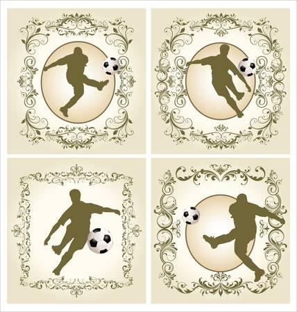 dodge: Vintage frame - soccer