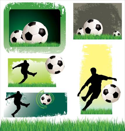 Soccer Banner set Stock Vector - 13015301