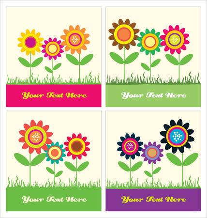 greeting card. vector illustration Vector
