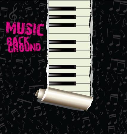 worn: Music background