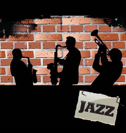 Musique de fond Jazz Banque d'images - 13404079