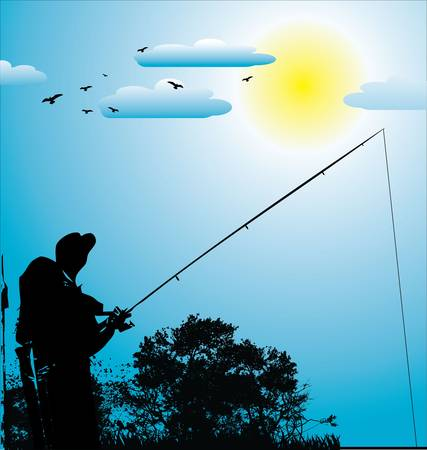 angler: Fishing background