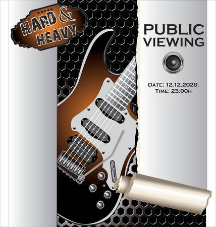 resonance: Music background Public viewing