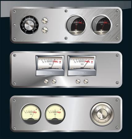 equipo de sonido: Música metálica bandera
