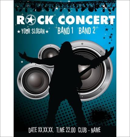 guitar amplifier: Rock concert wallpaper