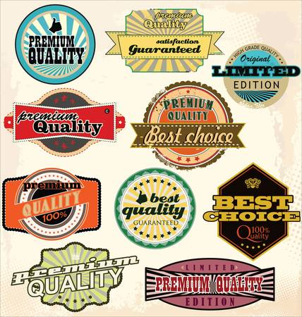 Vintage Labels Collection - Best Quality Vector