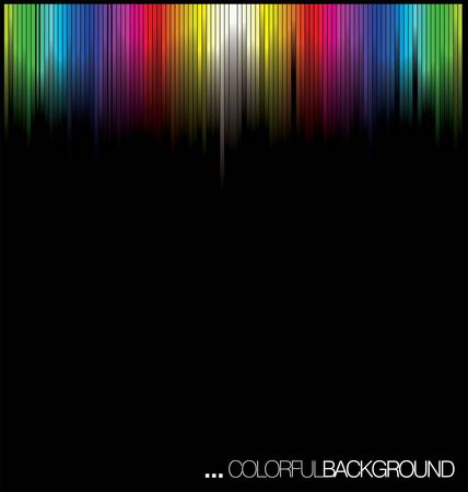 brightly colored: Abstract Colorful Background Illustration