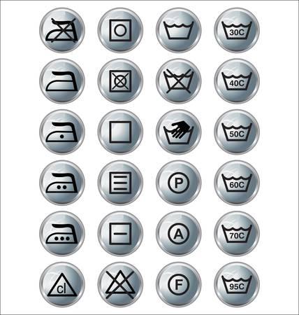 dish washing: segni di lavaggio