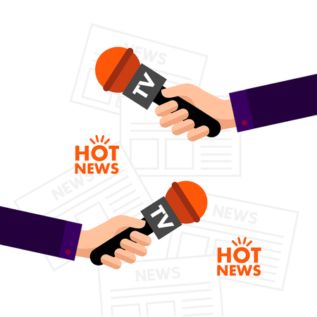 World great hot news concept vector illustration.
