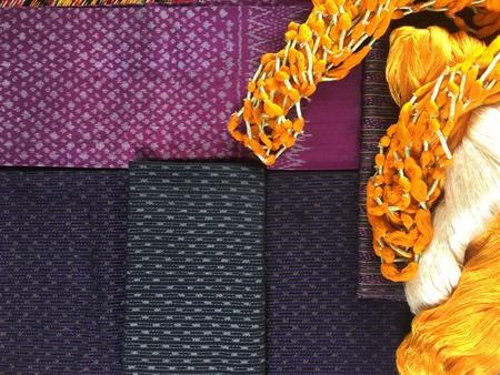Elegant Thai Silk. Standard-Bild - 120630854