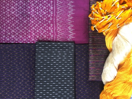 Elegant Thai Silk.