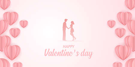 Happy valentine's day sweet vector illustration. 版權商用圖片