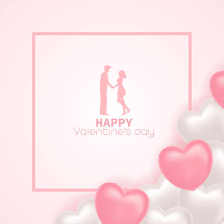 Happy valentine's day sweet vector illustration. 向量圖像