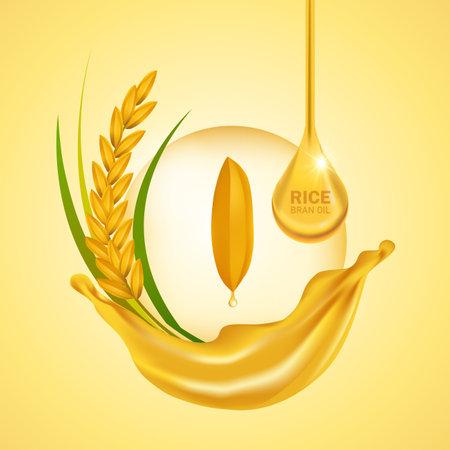 The Premium Rice great quality design vector.