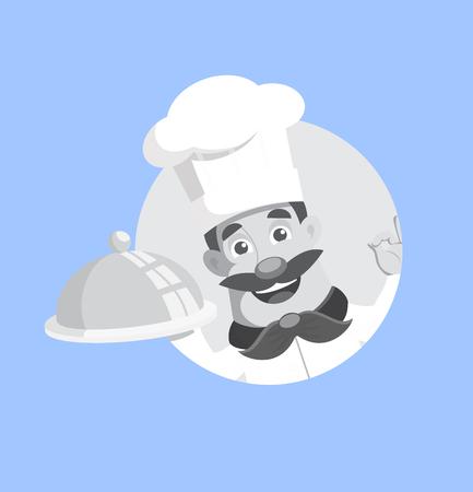 master chef Vector Illustration