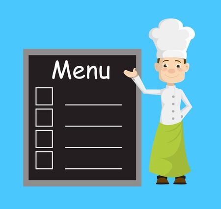 Chef - Presenting Menu List