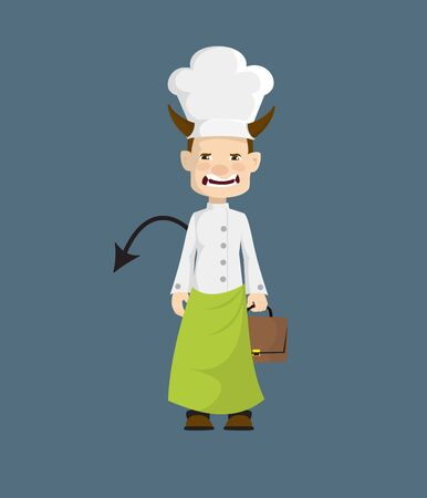 Chef - Standing in Angry Mood