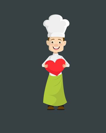 Chef - Standing with a Heart