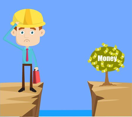 Engineer Builder Architect - Thinking How to Reach Close to Money Plant