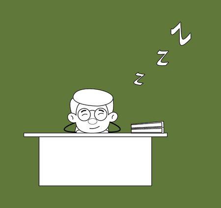 Gynecologist Doctor - Sleeping on Office Desk
