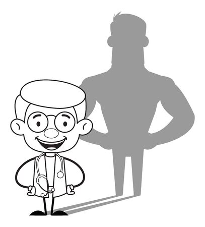 Gynecologist Doctor - Standing in Positive Attitude