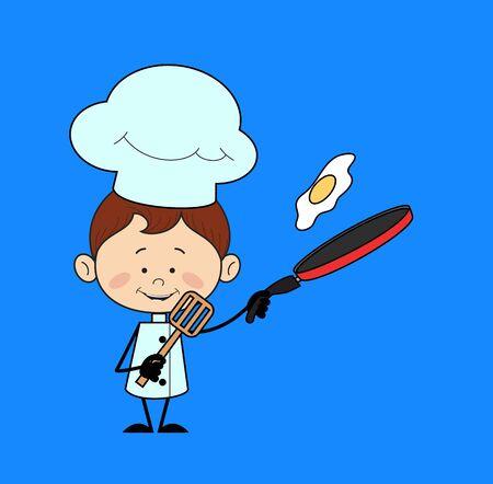 Kitchen Character Chef - Essen zubereiten