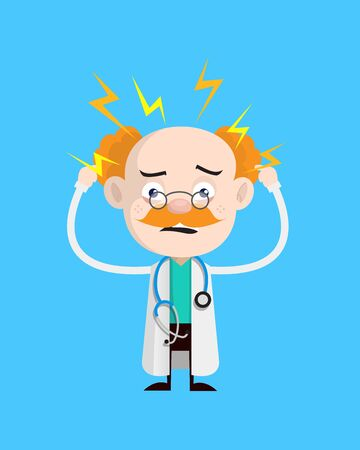 Medical Professional Doctor - with Worried Face