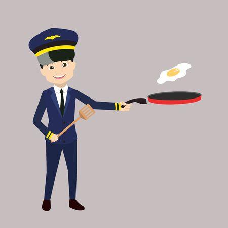 Pilot - Preparing Food