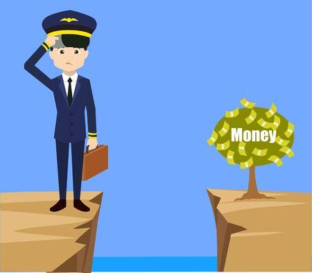 Pilote - Penser comment atteindre près de l'usine d'argent