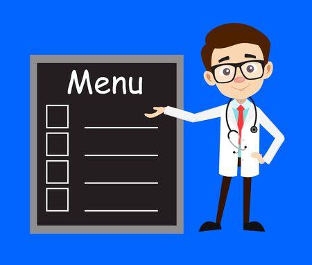 Professional Doctor - Presenting Menu List